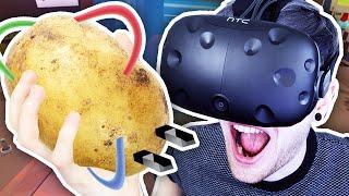 Download POTATO POWERED VR CARS?! | Job Simulator Video