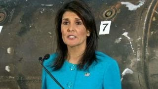 Download Haley: Iran cannot be allowed to continue aggressive actions Video