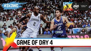 Download Canada v Philippines was a battle to the final second! | Full Game | FIBA 3x3 World Cup 2018 Video