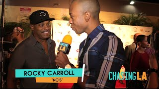 Download Rocky Carroll Interview @ K.I.S. Foundation 11th Annual Celebrity Bowling Challenge | Chasing LA Video