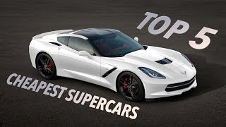 Download Top 5 Cheapest Supercars! Video