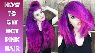 Download How to get Hot Pink Hair Video