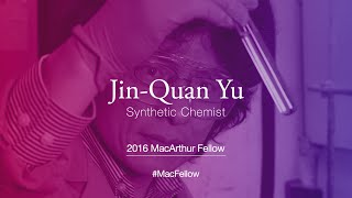Download Synthetic Chemist Jin-Quan Yu | 2016 MacArthur Fellow Video
