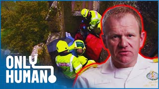Download Rescuing a Woman from the Top of a Medieval Castle | Paramedics Episode 1 | Only Human Video