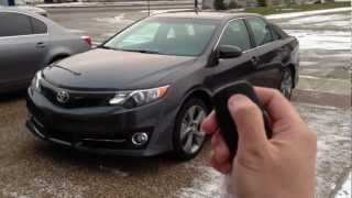 Download 2012 Toyota Camry SE - OEM Factory Remote Engine Starter System (with Smart Key) Video