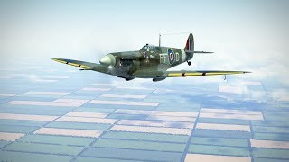 Download IL-2: Spitfire MkV vs Bf 109 F-4 (not for sensitive people) Video