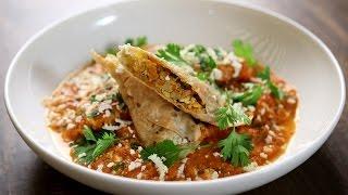 Download Veg Patiala Recipe | Paneer Stuffed Papad Rolls | The Bombay Chef - Varun Inamdar Video