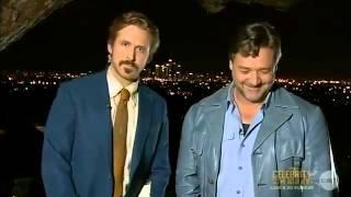 Download Ryan Gosling Crashes Russell Crowe's AACTA Speech Video