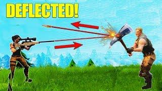 Download Deflecting A Sniper Bullet! [Fortnite] Video