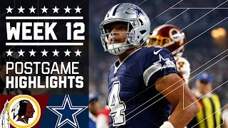 Download Redskins vs. Cowboys (Week 12) | Game Highlights | NFL on Thanksgiving Video