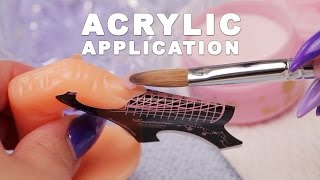 Download DIY Nail Workshop - Acrylic Application Video