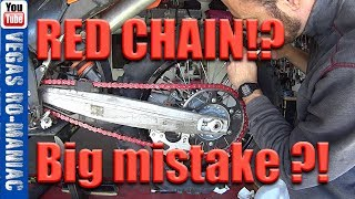 Download Biggest mistake people make when they Replace the Motorcycle Chain Video