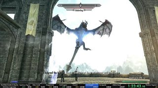 Download Skyrim legendary difficulty glitchless 1:31:26 speedrun Video