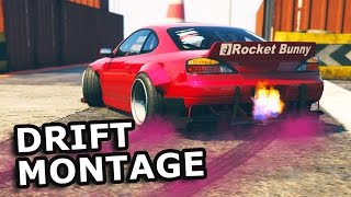 Download GTA V - DRIFT MONTAGE [Nissan s15 Rocket Bunny] Video