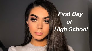 Download FIRST DAY OF HIGH SCHOOL GRWM/VLOG Video