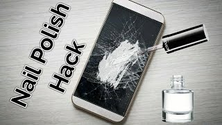 Download Repair A Phone Screen with Nail Polish Video
