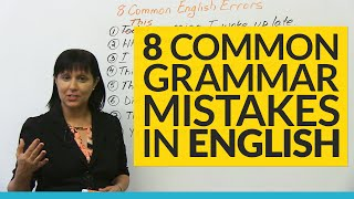 Download 8 Common Grammar Mistakes in English! Video