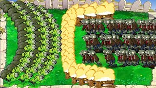 Download 99999 Basic Zombie vs 999 Gatling Pea Epic PvZ Hack Video