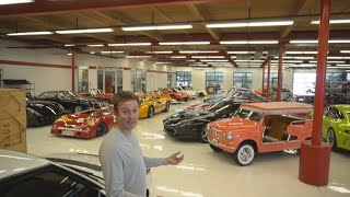 Download Touring INSANELY RARE Car Collection at Griot's Garage [pt. 2/2] Video