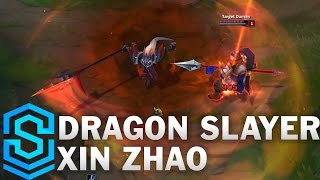 Download Dragonslayer Xin Zhao Skin Spotlight - Pre-Release - League of Legends Video