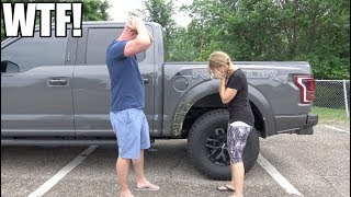 Download My wife WRECKED her Ford Raptor after only 2 MONTHS! (Unfortunately NOT clickbait) Video