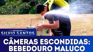 Download Bebedouro Maluco - Drinking Fountain Prank | Câmeras Escondidas (15/07/18) Video