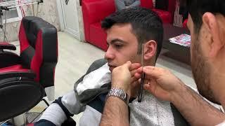 Download Asmr Turkish Massage(beard cut)(sheet washing)(Magic massage)(sakal traşı) Video
