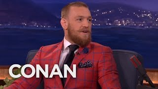 Download Conor McGregor Got His Start As A Plumber - CONAN on TBS Video