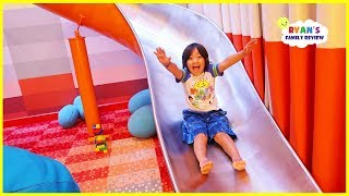 Download Giant Slide in our room on the cruise and fun indoor playground for kids! Video