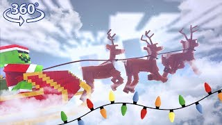 Download 360° Grinchmas - A Christmas Minecraft Adventure - Minecraft 360° Video Video