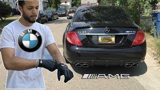 Download Crazy BMW Driver Drives A Mercedes AMG Video
