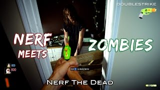 Download Nerf meets Call of Duty: ZOMBIES | First Person and Real Life in 4K! Video