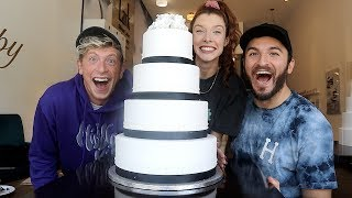 Download CHOOSING HER DREAM WEDDING CAKE!! Video