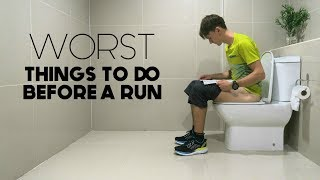 Download Worst Things to do Before a Run | 4 Common Mistakes Video