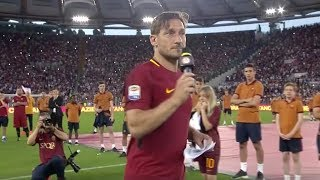Download Totti: The farewell speech Video