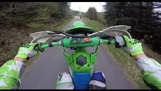 Download Enduro solo #7   DES BEAUX CHEMIN ET LA RENCONTRE D'UN KTM 250 SXF 2016   Kawasaki 125 kdx 1997(part Video