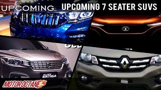 Download Upcoming 7 Seater SUVs in India | Hindi | MotorOctane Video