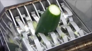 Download Making salad with FilaMaker Organic waste shredder. Video