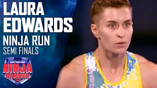 Download Ninja run: Laura Edwards (Semi Final) | Australian Ninja Warrior 2018 Video