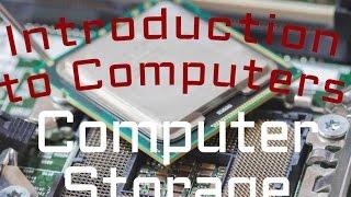 Download Computer Hardware : Computer Storage (02:03) Video