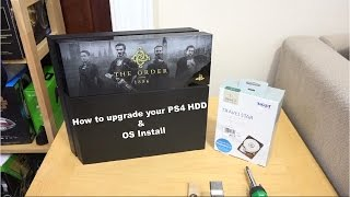 Download How to upgrade your PS4 Hardrive & OS Install Video
