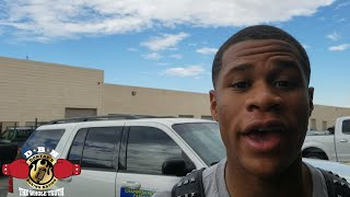 Download DEVIN HANEY TO ROBERT EASTER: ″FIGHT OR VACATE! I'M ON YO ASS″ Video