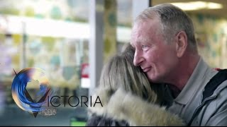 Download Reunited: Daughter finds homeless dad online after 20 years - BBC News Video