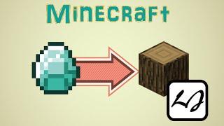 Download 【阿飄日常】如果 Minecraft 的鑽石都變木頭,放火後? Video