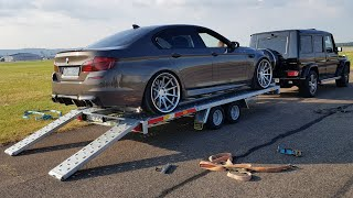 Download DECATTED 720HP BMW M5 F10!! LOUD SOUNDS, Revs, Drag Racing! Video