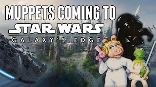 Download RUMOR - Muppets Coming To Star Wars Land At Disney World! The Muppets Take Galaxy's Edge Video