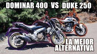 Download Duke 250 vs Dominar 400    ¿Cuál es la mejor por tu dinero? Motos de menos de 80 mil Video