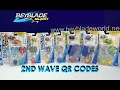 Beyblade Burst Hasbro QR Codes 2nd Wave Part 2 for Beyblade Burst Hasbro App Feb 12th 2017