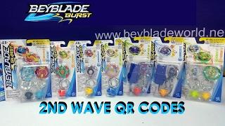 Download Beyblade Burst Hasbro QR Codes 2nd Wave Part 2 for Beyblade Burst Hasbro App Feb 12th 2017 Video