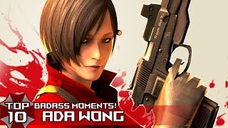 Download TOP 10 BADASS ″ADA WONG″ Moments in Resident EviL Series! Video